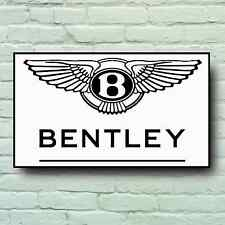 BENTLEY LOGO 2FT LARGE GARAGE SIGN WALL PLAQUE CAR CLASSIC CONTINENTAL GT GTC