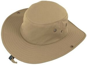 NWT-Henschel-BOONEY-Mens-Crushable-Cotton-Hat-Outdoor-Fishing-Floatable-New