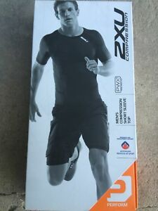 3947fc038d Image is loading 2XU-Men-039-s-Short-Sleeve-Compression-Top-