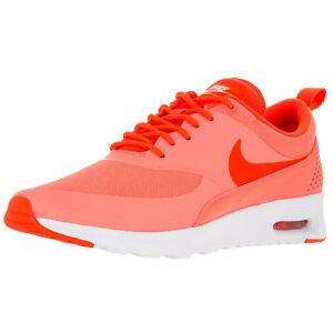Details about Nike Women's Air Max Thea Shoe 599409 608 PinkCrimsonWhite sz. 5.5 8.5