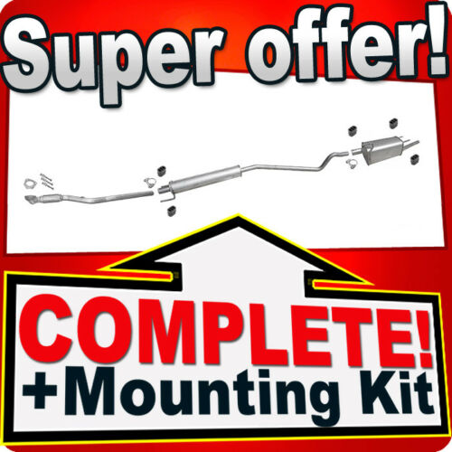 Pipe Silencer Exhaust System R61 Opel Combo C 1.6 87HP 2001-2011