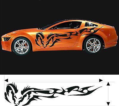 VINYL GRAPHICS DECAL CAR BOAT TRUCK KITS CUSTOM SIZE COLOR VARIATION F2-98
