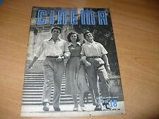 RIVISTA CINEMA NUOVA SERIE N.18 15 LUGLIO 1949 OSCAR BLAN LILIANA MANCINI VIDOR