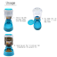 thumbnail 5 - 3.5L Automatic Pet Dog Cat Water Food Feeder Bowl Bottle Fountain Dispenser  L