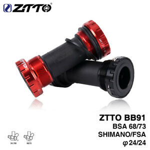 New ZTTO BB30sh Bicycle Bottom Brackets 24mm Adapter bicycle Press Fit Axle bike