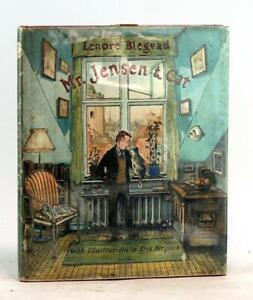 Lenore & Erik Blegvad First Edition 1965 Mr Jensen & Cat Hardcover w/Dustjacket