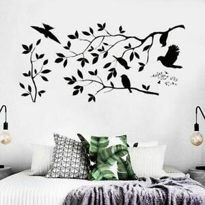 Vinyl-Art-Home-Room-DIY-Decor-Quote-Wall-Decal-Stickers-Bedroom-Removable-U5P1