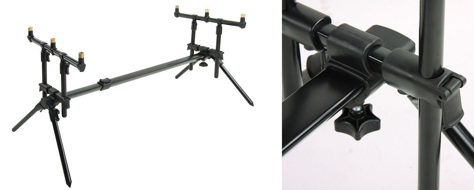 DAM MAD D-Fender 3er Rod Pod Tele Rutenständer Rutenhalter Karpfen