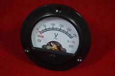 1pc Ac 0 250v Round Analog Voltmeter Voltage Panel Meter Dia 664mm Dh52