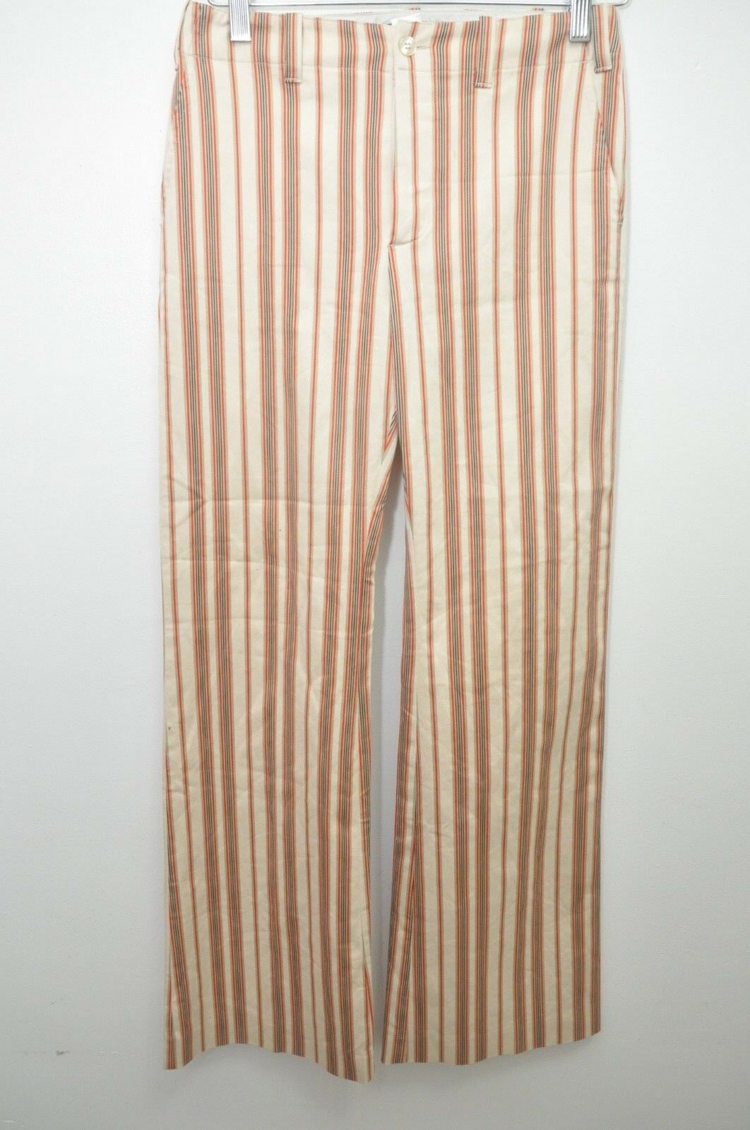 damen JOSEPH Multi-Farbe Striped Stiefelcut Pants France Größe XS 27X31