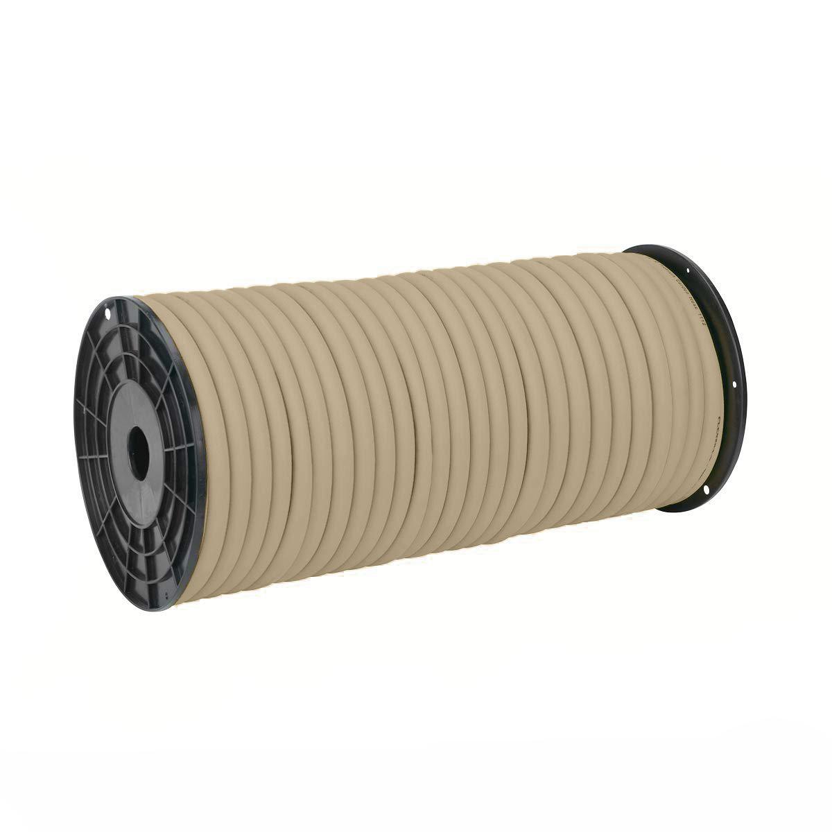 Flexzilla HFZC58250BRS Pro Water Hose, Plastic Spool 5/8 in x 250 ft Brown Mulch