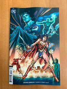 Justice-League-18-Will-Conrad-Variant-Cover-B-1st-Print-DC-2019-NM