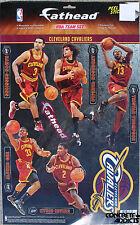 b385381fc29 Cleveland Cavaliers FATHEAD Team Set NBA Official 12 Vinyl Wall Graphics  Decal