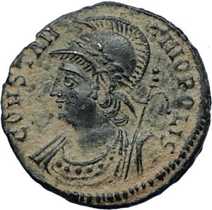 CONSTANTINE-I-the-GREAT-Founds-Constantinople-Original-Ancient-Roman-Coin-i67530