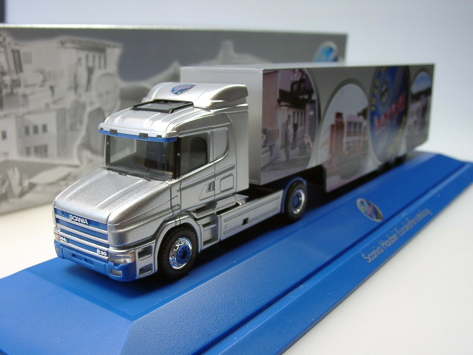 Herpa Scania Hauber 50 ans ans ans Herpa, argent - 188555 - 1 87 019582