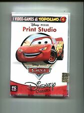 Disney Classici# CARS - MOTORI RUGGENTI#Video-Games Topolino Pixar Print - PC CD