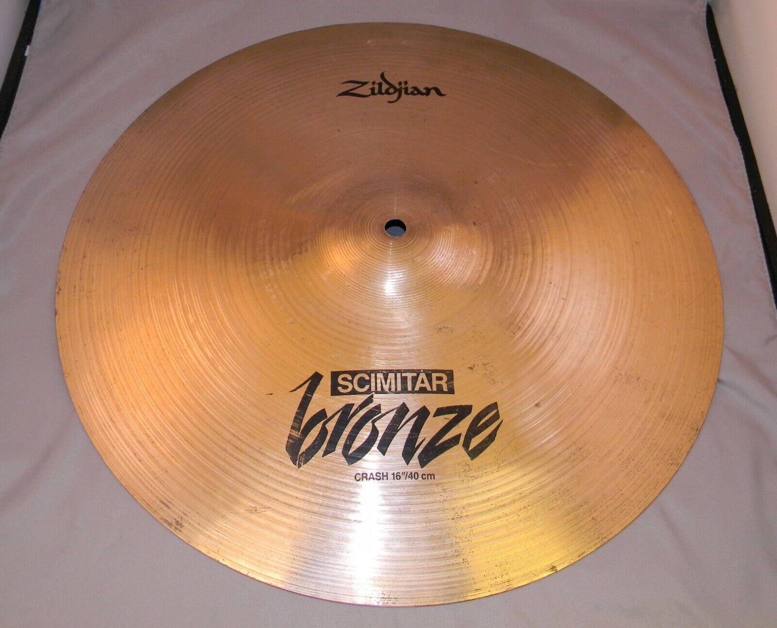 Scimitar Zildjian Co. Bronze Turkish 16  Crash or Hi-Hat Cymbal