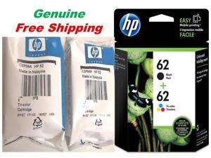 Genuine-HP-62-Ink-Cartridge-Combo-for-HP-5742-5745-5640-7640-Printer-NEW