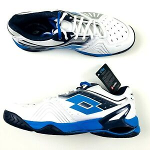 Lotto-Raptor-Ultra-IV-Speed-Shoes-Men-Size-10-White-Aviator-Blue-234