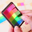 Colorful Diary Notebook Memo Tab Note Book Small Sticky Note Paper 40-1000 Pages
