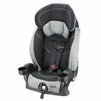 Evenflo Chase Lx Booster Seat, Harnessed Adjustable Baby Car Seat, Jameson