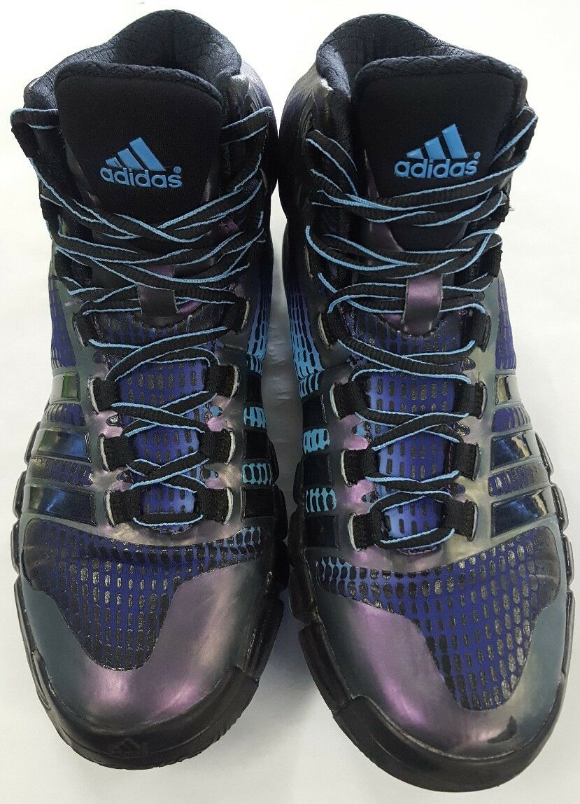 ADIDAS ADIPURE CRAZYQUICK BASKETBALL SHOES PURPLE BLACK 8.5 G66129 S01