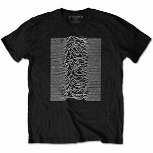 Joy-Division-039-Unknown-Pleasures-039-T-Shirt-Official-Merch-New-Order-Factory