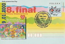 Poland postmark POZNAN - VIII final WOSP (analogous)
