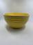 Vintage-Pre-Fiesta-Ware-HLC-Large-Yellow-Mixing-bowl-ridge-pattern-USA-1930-039-s thumbnail 1