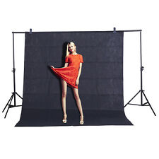 CY Black Backdrop Screen Video Background Non-woven Photography Studio 1.6x1M