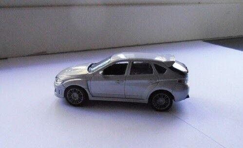 Modelbil, Saico Toys Subaru Impreza WRX STI, skala 1/43
