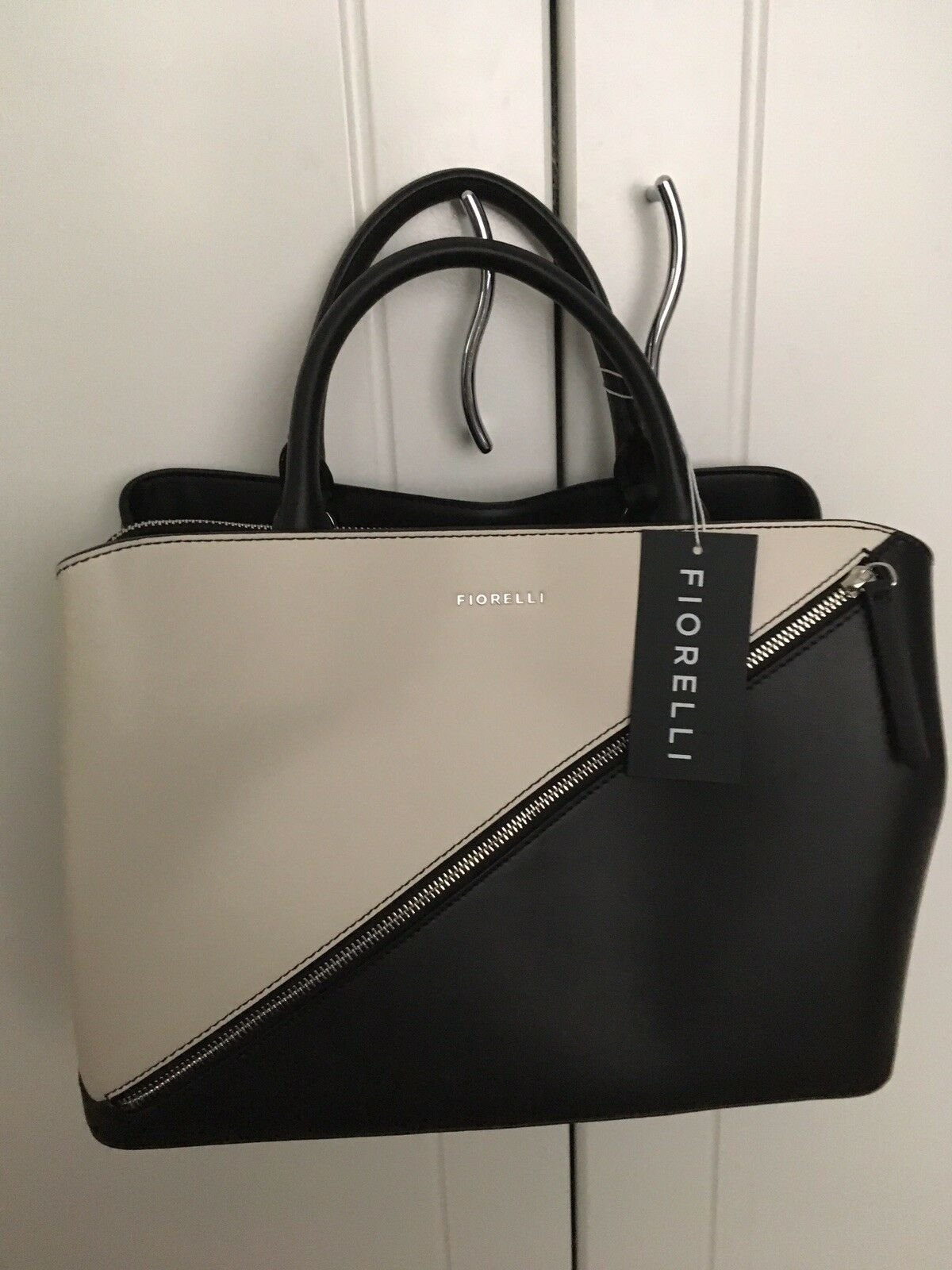 df5275585efa Fiorelli Womens Bethnal Triple Compartment Grab Bag Mono ...