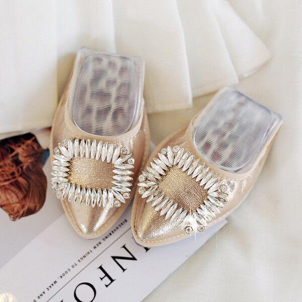 ballet flats loafers Damens's schuhe comfortable silver gold schwarz soft like
