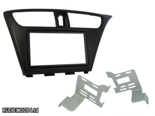 Honda Civic 2012 sobre doble DIN coche estéreo kit de montaje de Facia ct23hd25 Rhd