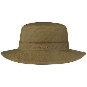 Stetson Waxed Cotton Bucket Outdoor Hat Hats Men fishing hat cloth ... a8d9cebd249