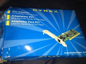 DYNEX DX-E101 PCI FAST ETHERNET ADAPTER DRIVERS DOWNLOAD (2019)