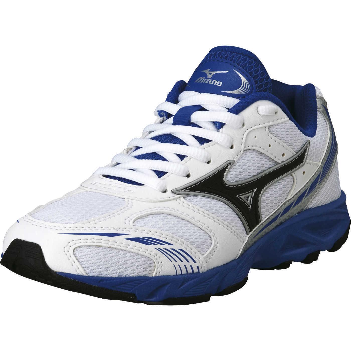 Mizuno Scarpa Running Sneaker Bambino Crusader JNR Bianco black blue