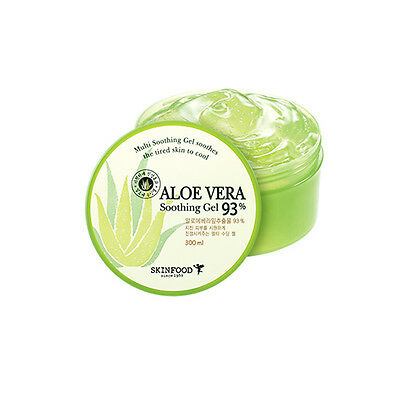 SKINFOOD Aloe Vera 93% Soothing Gel 300ml - Korea Cosmetic