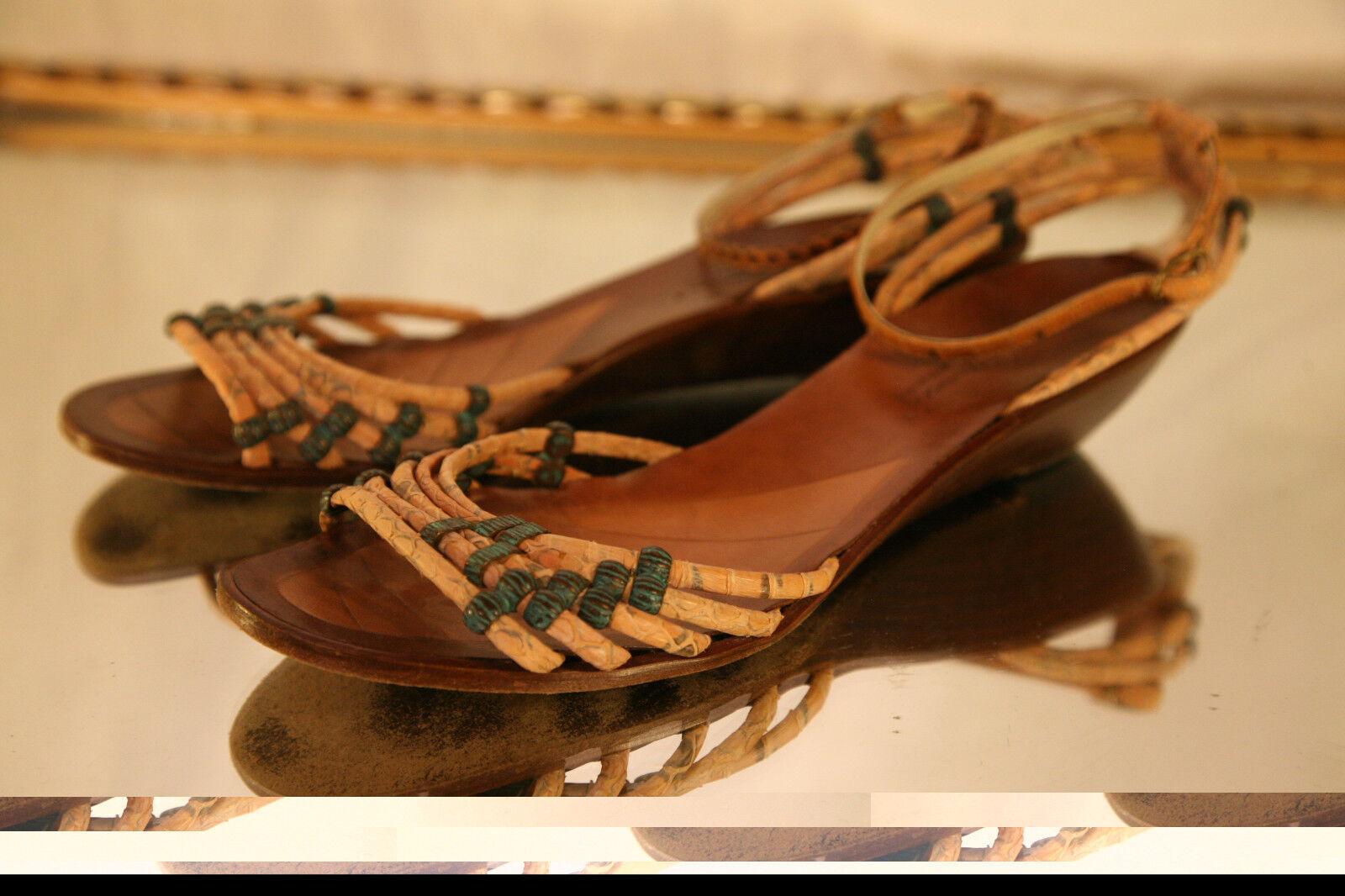 Sesto Sesto Sesto Meucci Open Toe Strappy Sandle Größe 8 1 2 M US 13c537