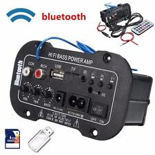 Universal Bluetooth Car Stereo Audio Digital Amplifier MP3 USB TF Remote Control