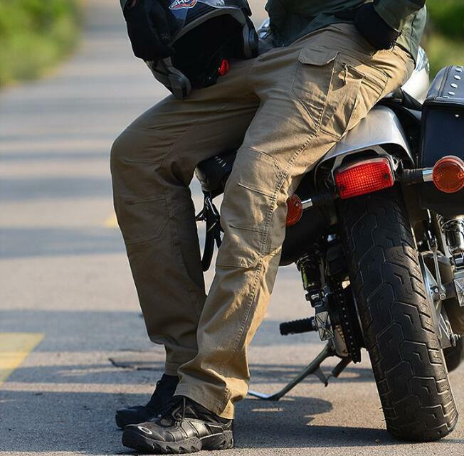 Army Men's Trousers Combat Military motorbike riding Cargo Casual Work Pants