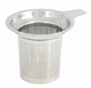 Image Is Loading Stainless Steel Round Tea Infuser Filter Strainer Sieve