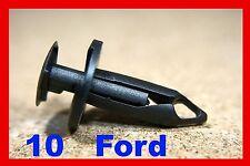 Ford bumper fender cover shield  plastic fastener clip