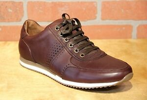 Image is loading Bacco-Bucci-Men-039-s-Fashion-Sneaker-Leather-