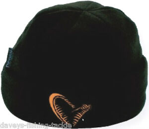 BLACK KNITTED BEANIE CHOOSE WITH BRIM OR WITHOUT SAVAGE FISHING HAT NEW