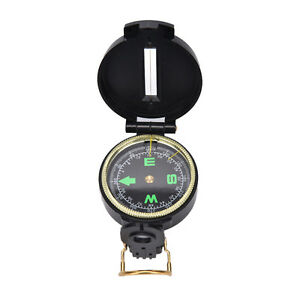 Metal Lensatic Compass Military Camping Hiking Style Survival Marching.UK