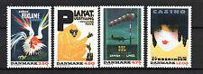 Denmark ( Dinamarca ) : 1991 Posters Nordic Congress ( complete set ) MNH
