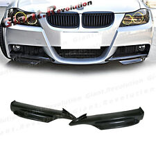 3K Carbon Front Bumper Splitter Lip For BMW 05-08 E90 E91 328i 330i M-Sporty 4DR