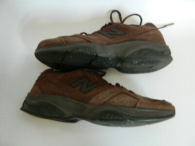 Mens New Balance 623 Brown Suede Shoes