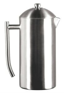 Frieling 44 Fl Oz Stainless Steel French Press Brushed